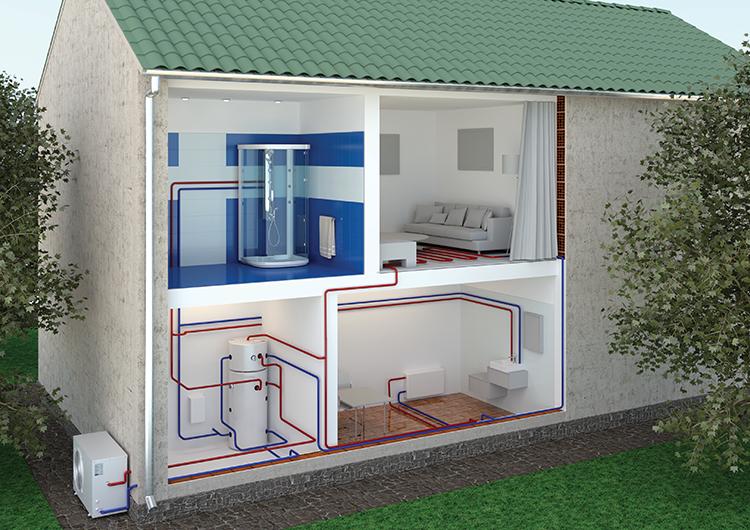 Термопомпеният бойлер - решение за целия дом