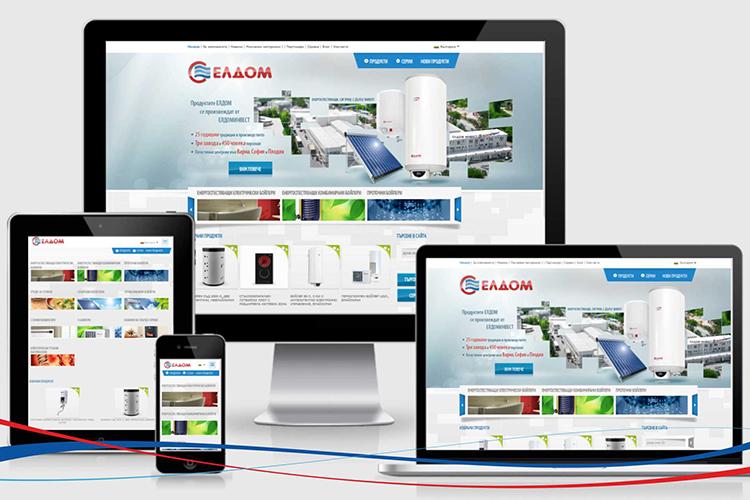Сайтът на Елдоминвест ООД е вече с респонсив дизайн