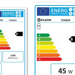 Бойлери Елдом окомплектовани с етикет за енергийна ефективност